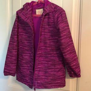 Girls raincoat / Size 7/8